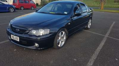 Report - BTZ203 - 2004 FORD FALCON in BLUE